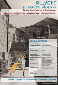 """Girifalco – Giovedì 13 agosto """"Ri_vedi il centro storico"""""""
