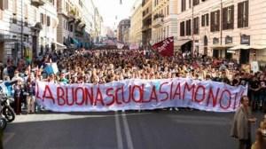 Domani sciopero dei docenti italiani contro la riforma della scuola