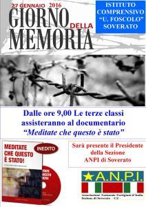 """Soverato – Ultimi due appuntamenti per la """"Giornata della Memoria"""""""