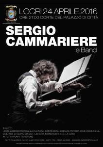 Domenica 24 Aprile a Locri concerto di Sergio Cammariere