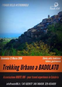 Domenica 13 Marzo il Trekking Urbano a Badolato