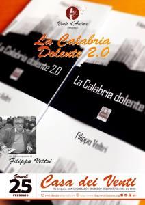 Calabria Dolente 2.0. Filippo Veltri alla Casa dei Venti