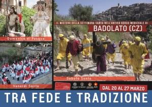 Il mistero della Settimana Santa nell'antico borgo medievale di Badolato