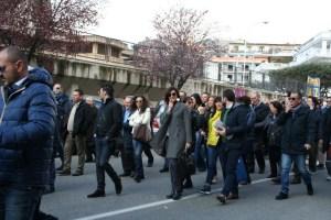 Grande manifestazione a Lamezia Terme a difesa dell'Ospedale