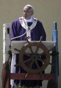 Papa Francesco a Lampedusa - omelia