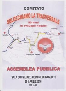 Comitato Trasversale delle Serre, il 20 aprile l'assemblea pubblica