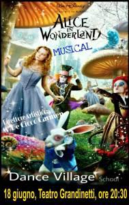 """Domani lo spettacolo """"Alice in The Wonderland"""" al teatro Grandinetti di Lamezia Terme"""