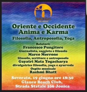 Filosofia e musica domenica a Soverato, ospite d'eccezione Rashmi Bhatt