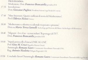 """Crotone – Convegno """"Mare internum: quattro millenni di storia del Mediterraneo"""""""
