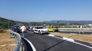 Trasversale delle Serre, inaugurato il viadotto Sant'Antonio: Soverato e Serra da oggi sono più vicine