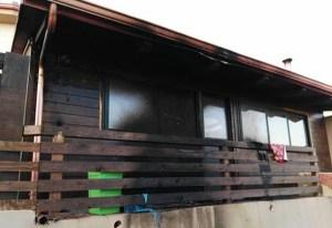 Incendiata la veranda del titolare di un noto locale a Tropea