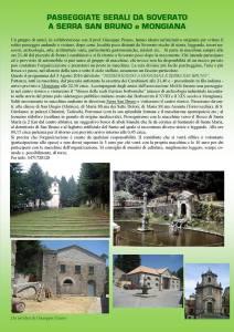 Il 3 Agosto passeggiate serali da Soverato a Serra San Bruno e Mongiana