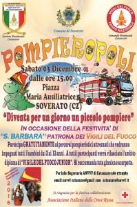 """Soverato – Sabato 3 Dicembre """"Pompieropoli"""""""