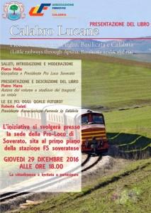 """Soverato – Presentazione Libro """"Calabro-Lucane, Piccole Ferrovie tra Puglia, Basilicata e Calabria"""""""