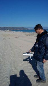 Radioattività ambientale, concluse le misure campali a Soverato