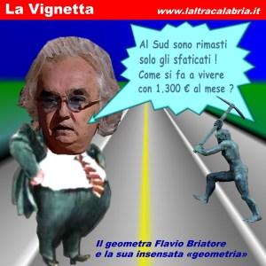 Briatore e la sua «cartabianca» sul Mezzogiorno d'Italia