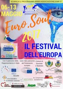 Dal 6 al 13 Maggio l'Euro.Soul 2017