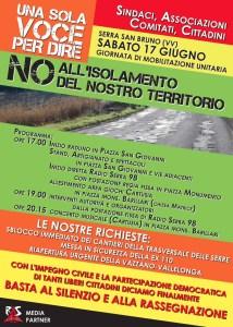 Serra San Bruno, domani la grande mobilitazione dei cittadini: no all'isolamento