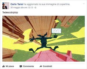 Cisal: Querela per Tansi e richiesta danni per ingiurie su Facebook contro il dipendente regionale Tedesco