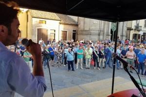 Manifestazione unitaria per la strada