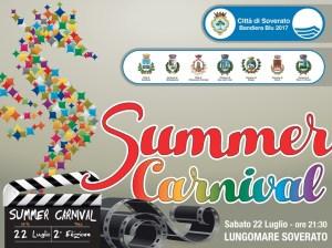 """Soverato – Sabato 22 Luglio la seconda edizione del """"Summer Carnival"""""""