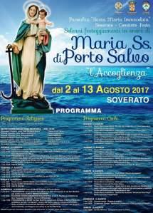 """Soverato – Festeggiamenti in onore di """"Maria Ss. di Porto Salvo"""""""