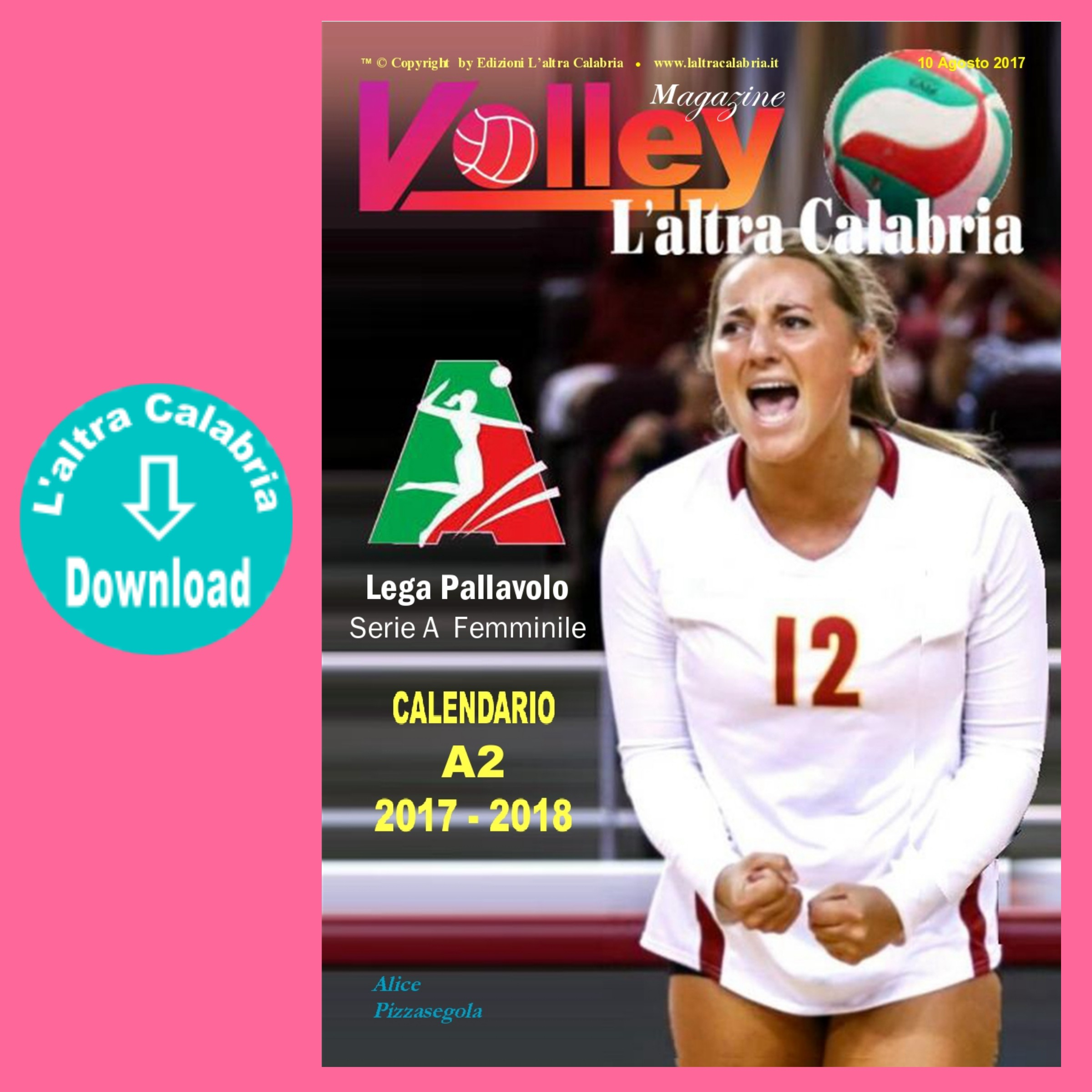 Calendario Volley A2.Volley A2 Femminile Il Calendario 2017 2018 In Digital