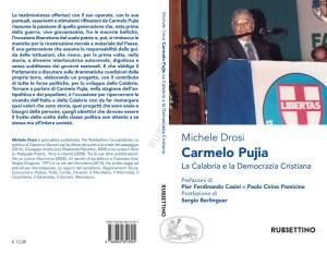 L'ultima opera di Drosi: un libro su Carmelo Pujia