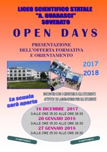 """Open Day al Liceo Scientifico Statale """"A. Guarasci"""" di Soverato"""