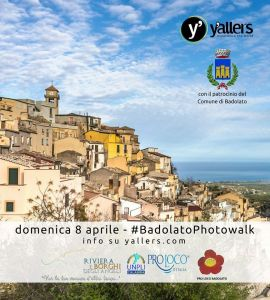 """Domenica 8 Aprile a Badolato Borgo: primo """"PhotoWalk"""" del 2018 targato Yallers Calabria"""