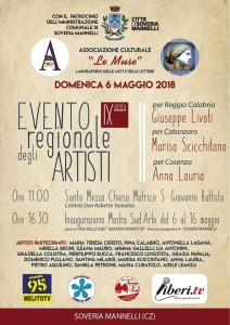 Domenica 6 Maggio il IX Evento regionale degli artisti a Soveria Mannelli