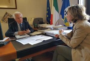 Sanità, incontro a Catanzaro tra la senatrice Vono e il commissario Scura