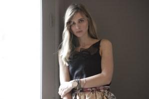 L'attrice e presentatrice radio e tv Carolina Di Domenico conduttrice del MGFF
