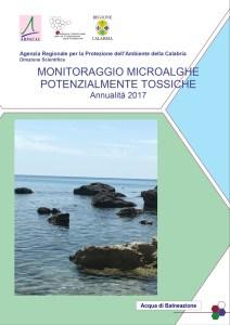 Microalghe potenzialmente tossiche, online il rapporto annuale per la Calabria