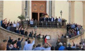 """Anpi: """"Una vergogna il saluto fascista ai funerali di Giardini"""""""