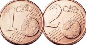 1 e 2 centesimi non vengono più coniati, aumenteranno i prezzi?
