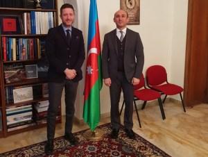 Internazionalizzazione, a Roma Daniele Rossi ha incontrato l'Ambasciatore dell'Azerbaijan Ahmadzada