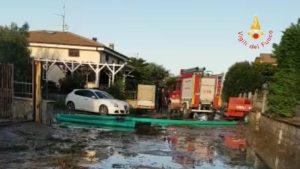 Maltempo nella provincia di Catanzaro, oltre 50 gli interventi dei vigili del fuoco