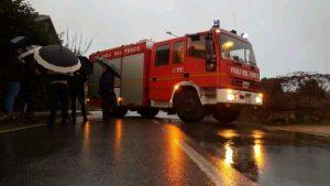 Cardinale – Fulmine colpisce tubature del gas, evacuate 15 famiglie