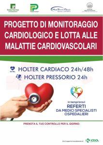 Federfarma Catanzaro. Progetto di monitoraggio cardiologico e lotta alle malattie cardiovascolari