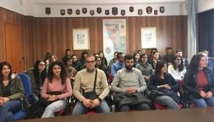 Visita degli studenti dell'Università di Catanzaro al porto di Vibo Valentia
