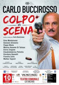 """""""Colpo di scena"""", il nuovo spettacolo di Carlo Buccirosso al Teatro Comunale di Catanzaro"""