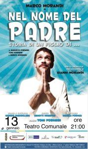 """Teatro Soverato – Domenica 13 Gennaio lo spettacolo """"Nel nome del Padre"""" (storia di un figlio di..)"""