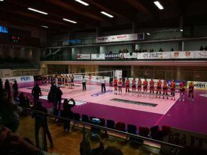 Sconfitta a Trento in quattro set per il Volley Soverato