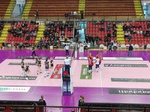 Sconfitta del Volley Soverato contro la capolista Perugia
