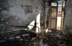 Incendio distrugge casa di riposo, 56enne arrestato per tentato omicidio plurimo