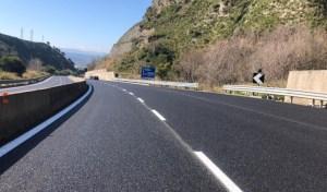 """Terminati lavori di pavimentazione della SS 280 """"Dei Due Mari"""" a Catanzaro"""