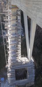 Catanzaro – Proseguono i lavori di manutenzione sul Viadotto Bisantis