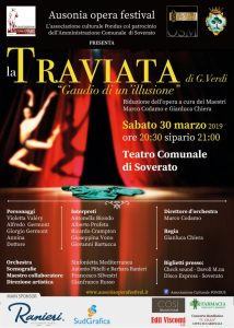 "Al Teatro di Soverato in scena la Traviata ""Gaudio di un'illusione"""