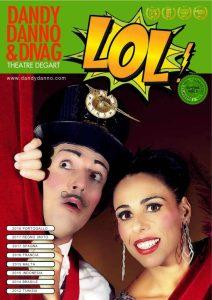 Chiaravalle, a teatro l'atteso ritorno del duo comico Dandy Danno e Diva G